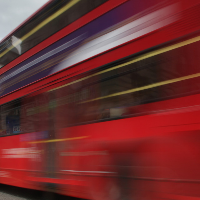 """""""Red london Bus"""" stock image"""