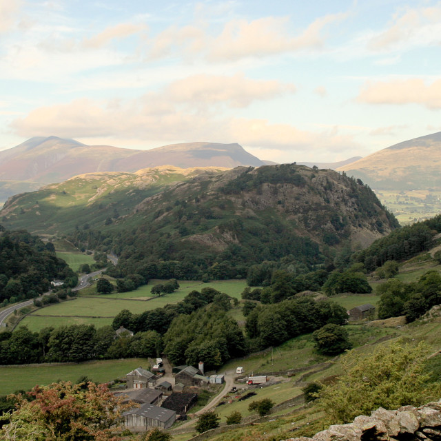 """""""Lake District near Thirlmere"""" stock image"""