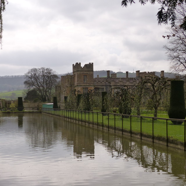 """Sudeley Castle"" stock image"