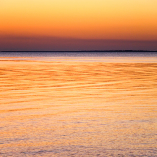 """""""Colorful sky and water"""" stock image"""