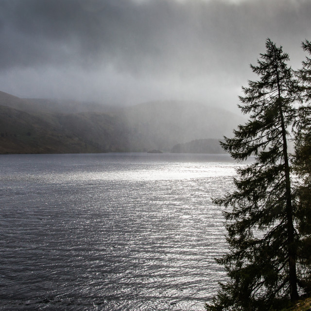 """""""Storm over Haweswater"""" stock image"""