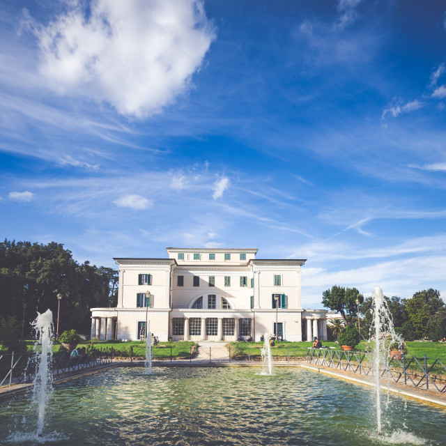 """Villa Torlonia"" stock image"