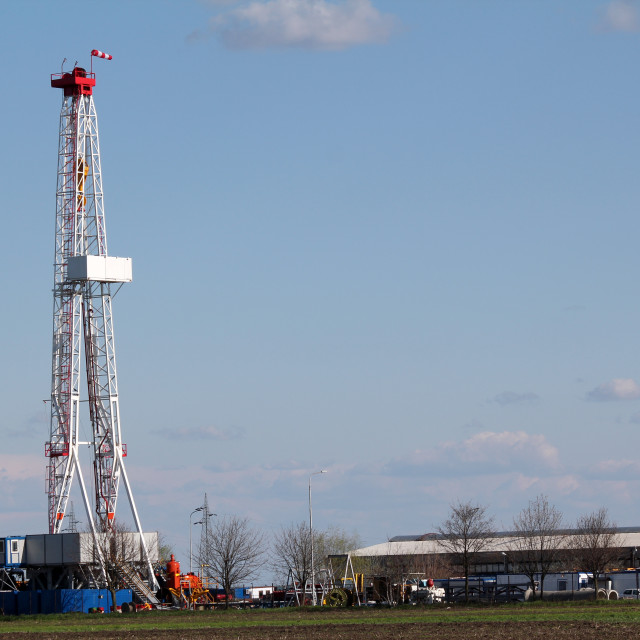 """""""oil industry drilling rig"""" stock image"""