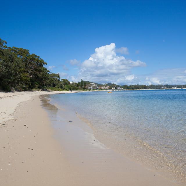 """Australian Beach"" stock image"