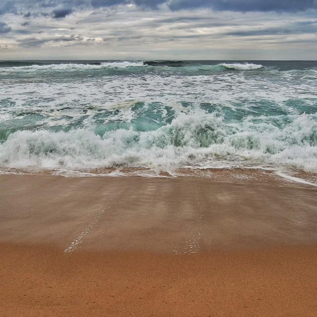 """Praia das Maçãs"" stock image"