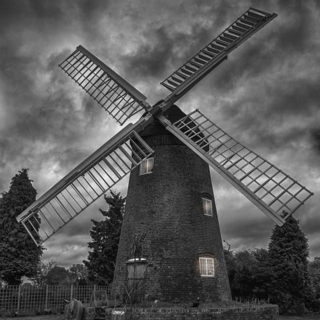 """""""English Windmill"""" stock image"""
