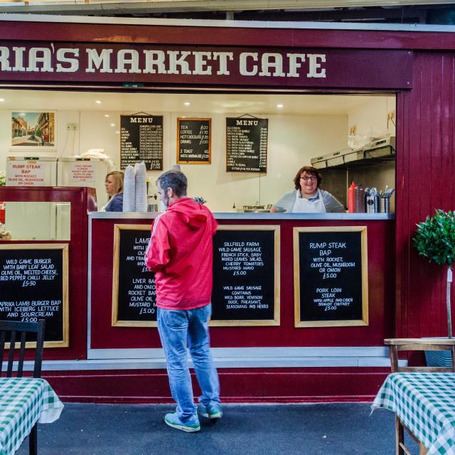 """Maria's Market Cafe"" stock image"