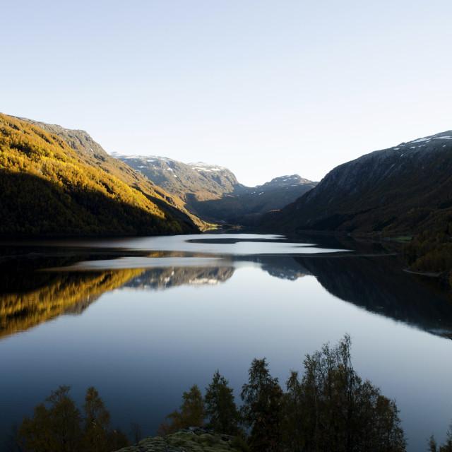 """""""Røldalsvatnet Landscape"""" stock image"""