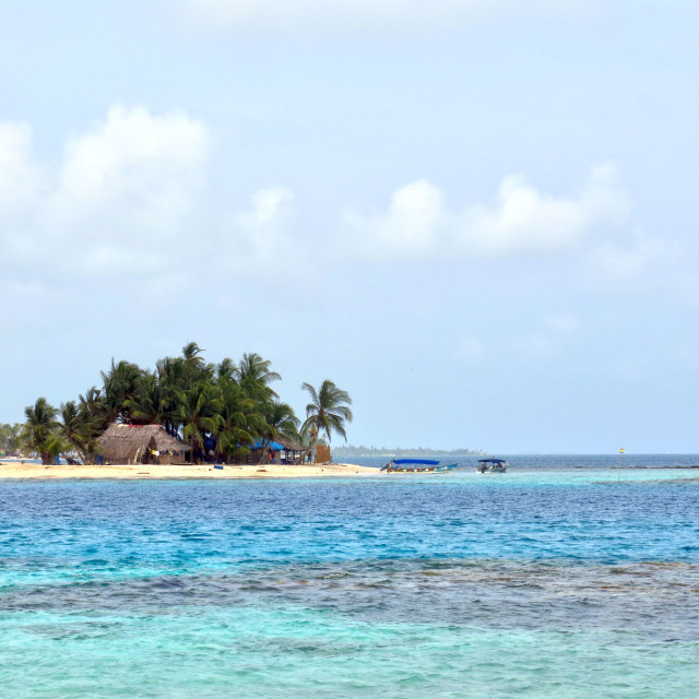 """San Blas Islands Panama"" stock image"