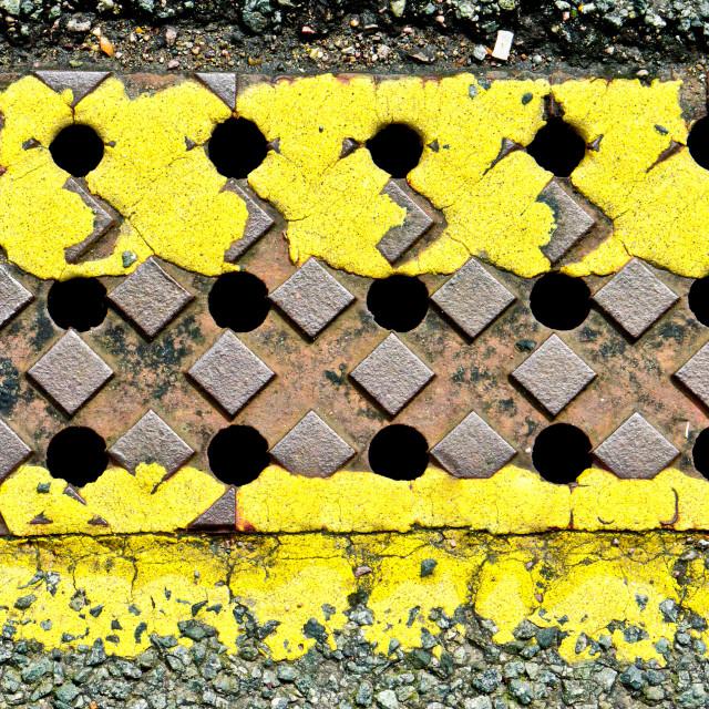 """Yellow lines"" stock image"