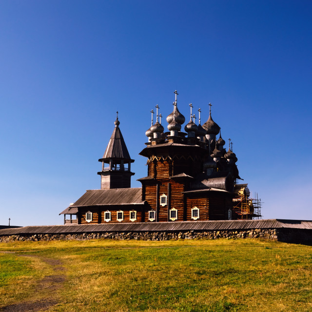 """Kizhi – Russian Cultural Heritage Site"" stock image"