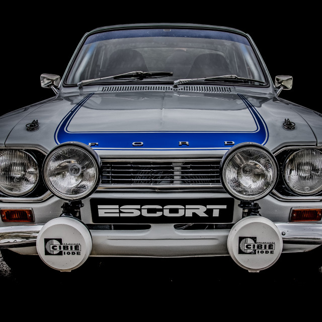 """""""Ford RS Escort Mexico"""" stock image"""