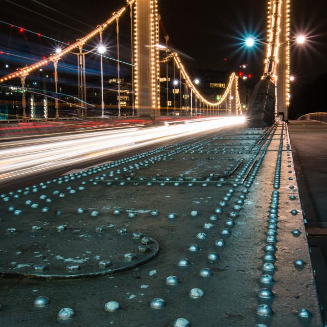 """Chelsea Bridge Steel"" stock image"