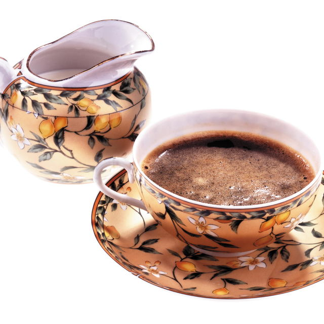 """Disk Tea & Coffee"" stock image"