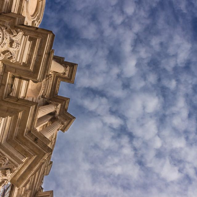 """Baroque church"" stock image"