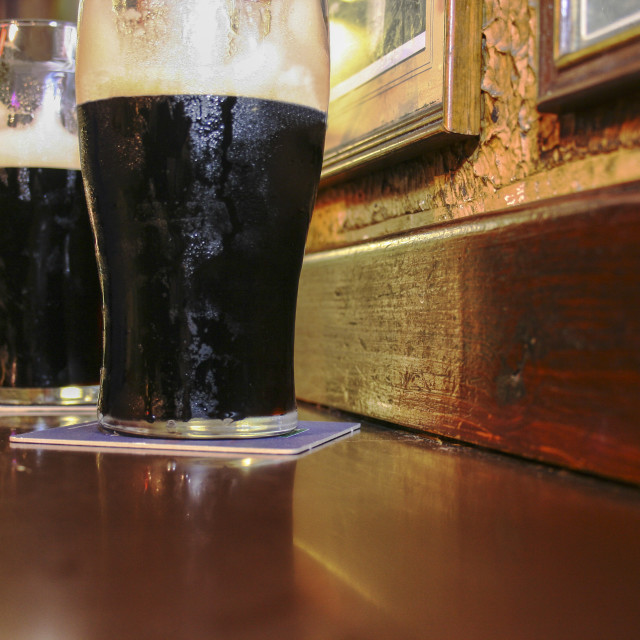 """irish stout beer"" stock image"