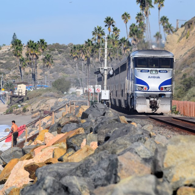 """Surfliner"" stock image"