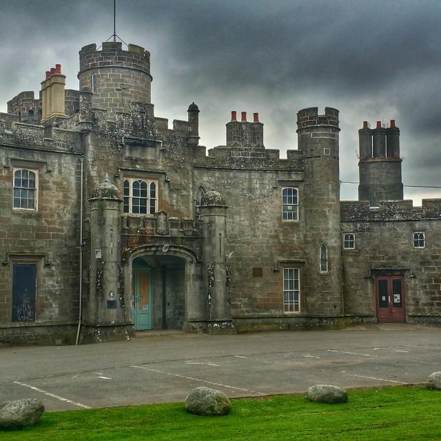 """Balloch Castle, Scotland"" stock image"