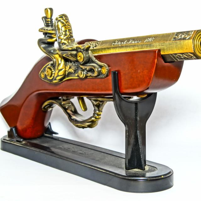 """Retro gun"" stock image"