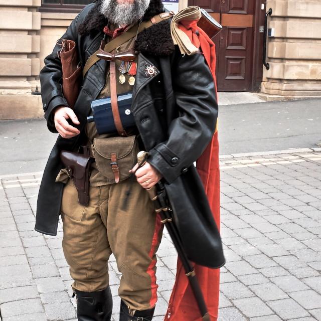 """Russian Cossack"" stock image"