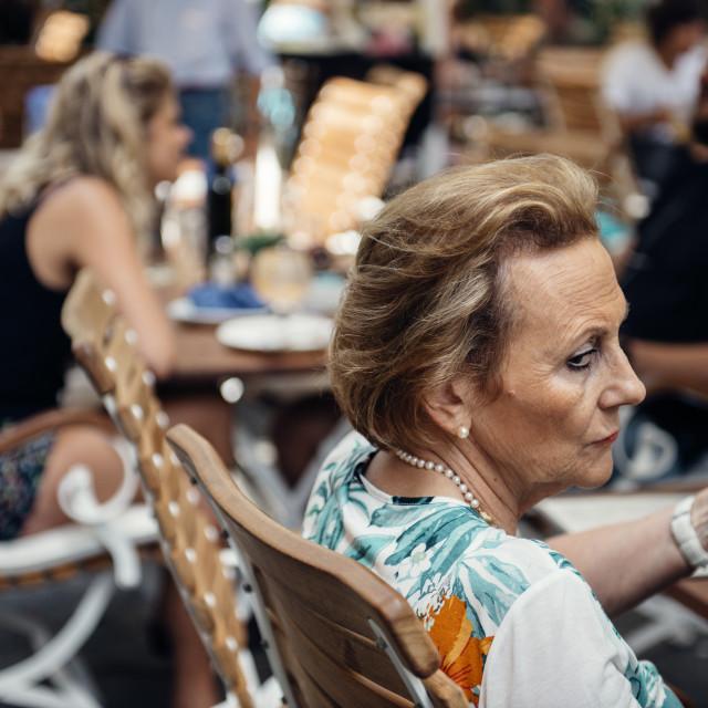 """La Matriarca"" stock image"