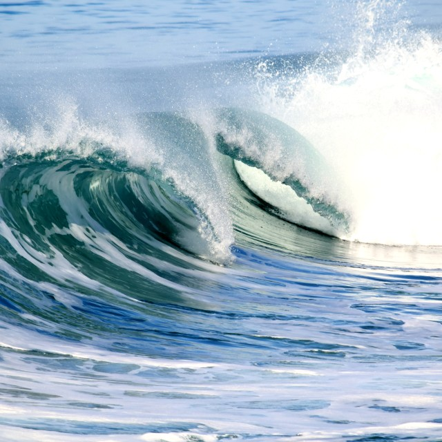 """""""Wave Collection"""" stock image"""