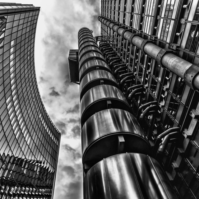 """Lloyds of London Building"" stock image"