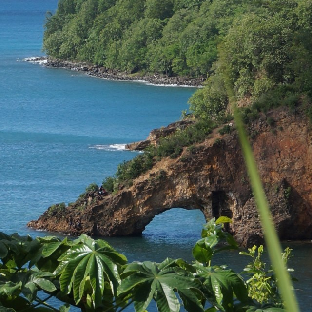 """Paradise in Caribbean"" stock image"