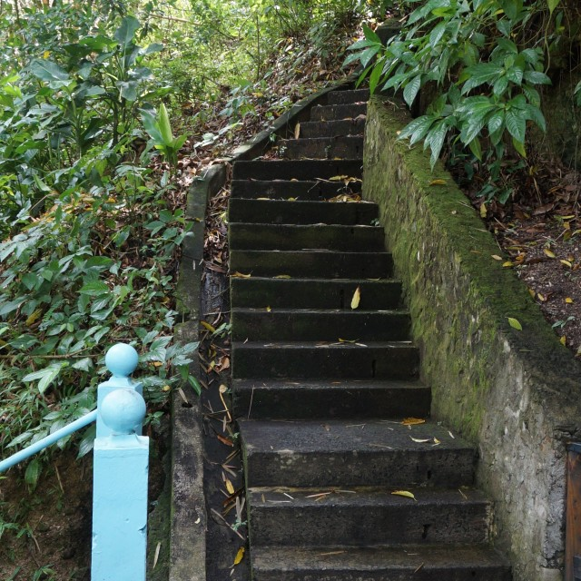 """Stone staircase"" stock image"