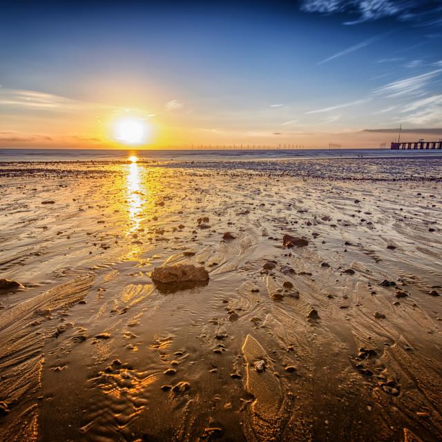 """""""East Essex Sunrise"""" stock image"""