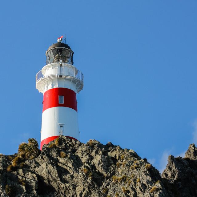 """Cape Palliser lighthouse 4."" stock image"