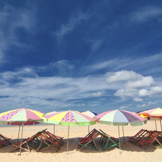 """Vung Tau beach, Vietnam"" stock image"