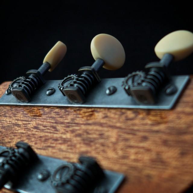 """guitar detail ll"" stock image"