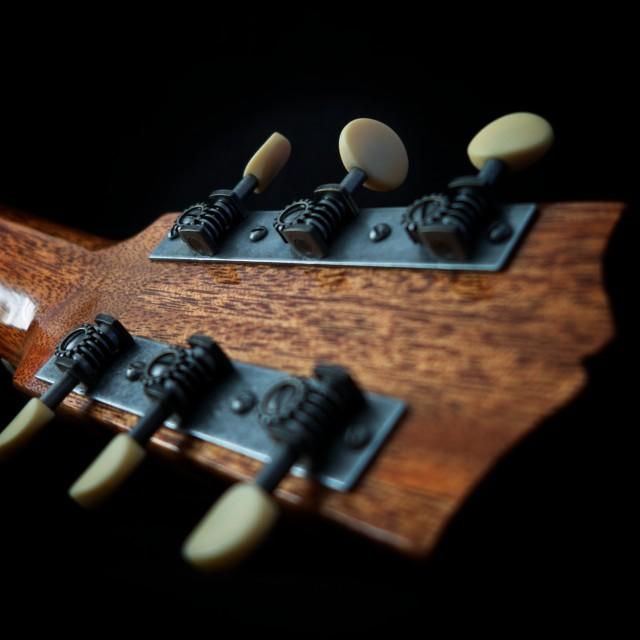 """guitar detail lV"" stock image"