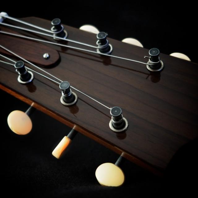 """guitar detail V"" stock image"