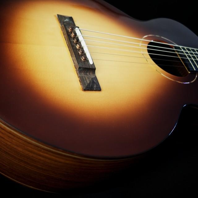 """guitar detail lX"" stock image"