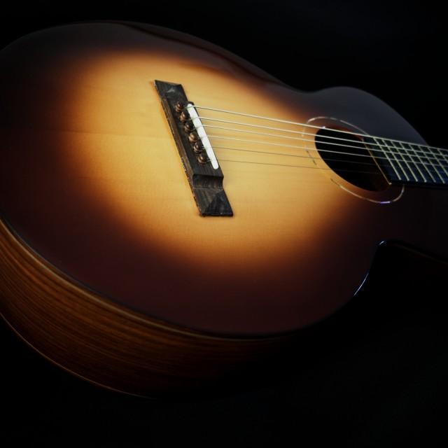 """guitar detail X"" stock image"