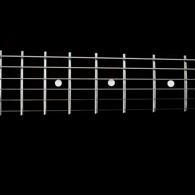 """guitar detail Vlll"" stock image"
