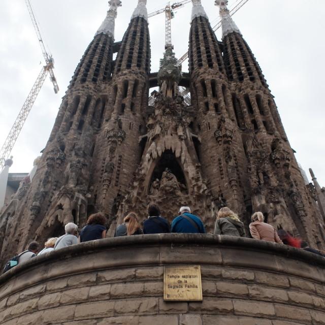 """Gaudi's Sagrada Familia"" stock image"