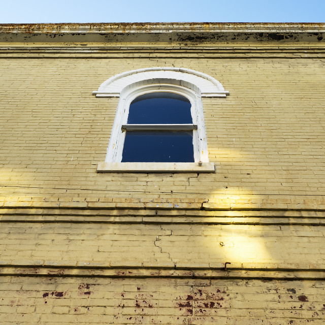 """Corinth Window"" stock image"