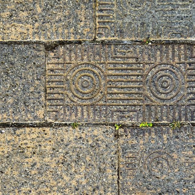 """Corinth Antique Brick"" stock image"