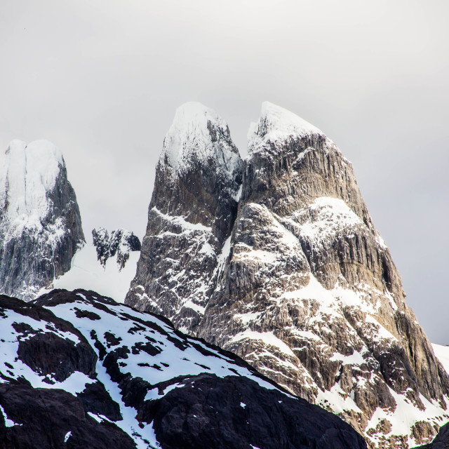 """Patagonian Ice Fields"" stock image"