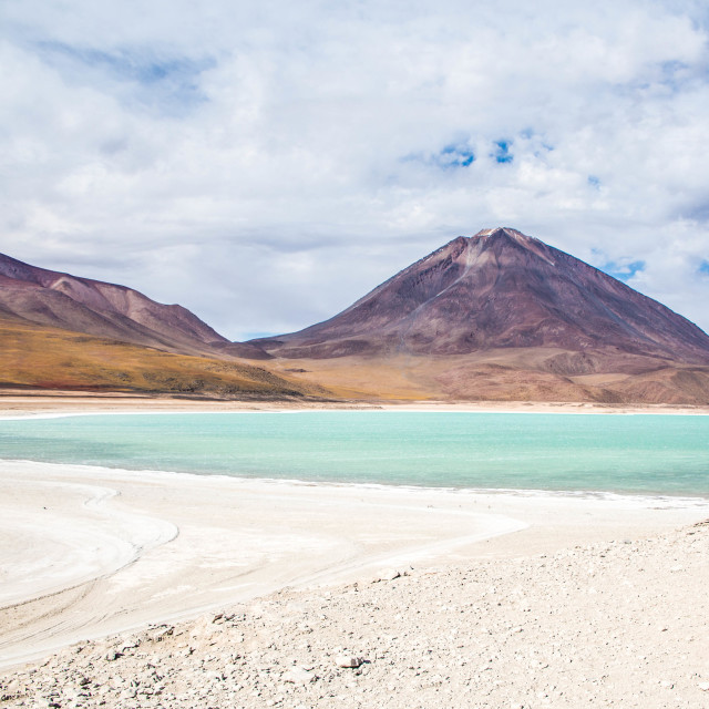 """Lakes of Bolivia"" stock image"