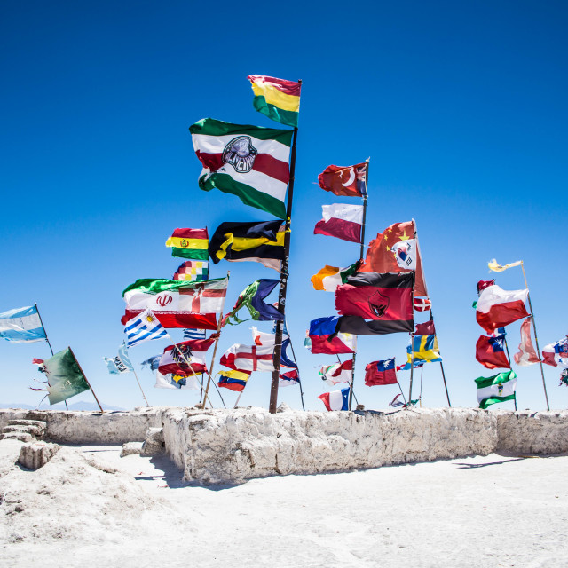 """""""Salt Hotel in Bolivia"""" stock image"""