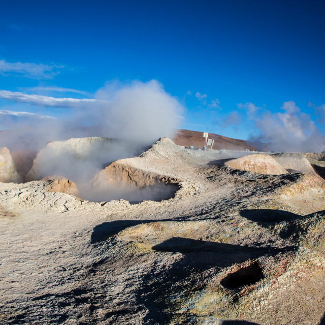 """""""Active Geysers"""" stock image"""