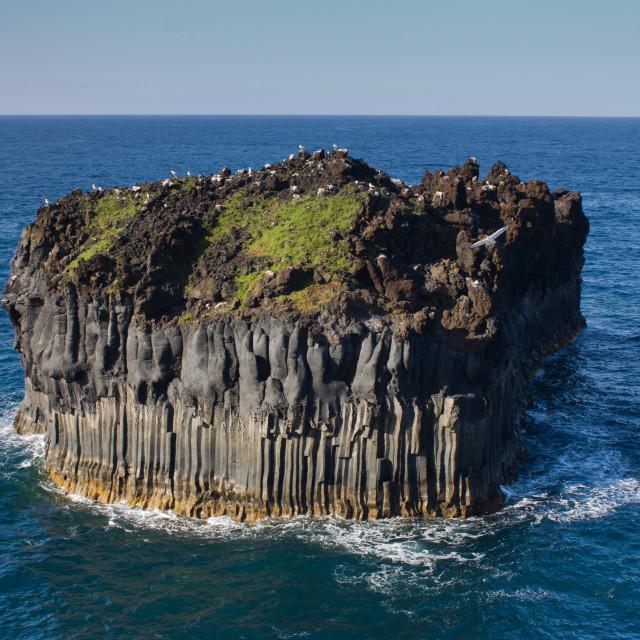 """Basaltic rock"" stock image"