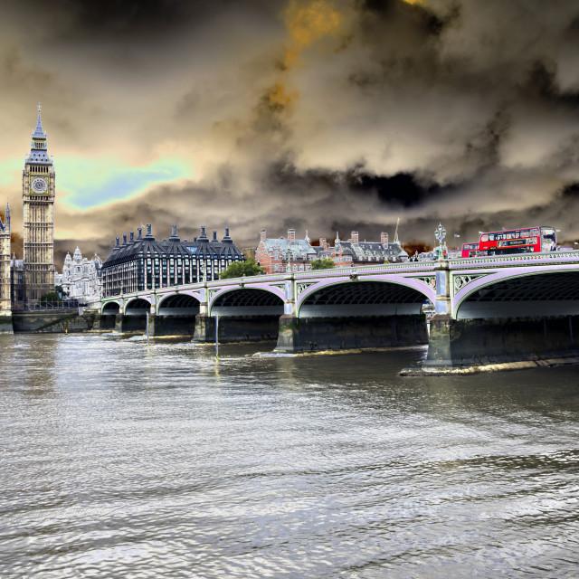 """Westminster Bridge."" stock image"