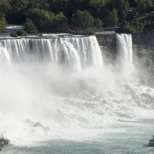 """""""American Falls (1)"""" stock image"""