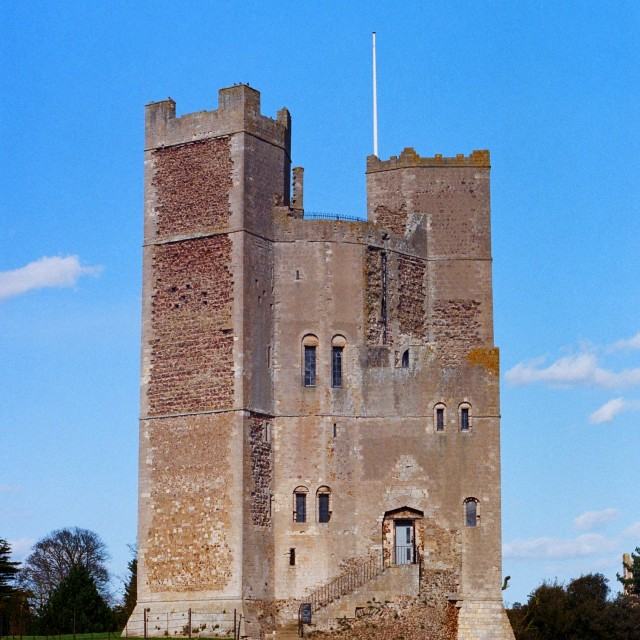 """""""Orford Castle"""" stock image"""