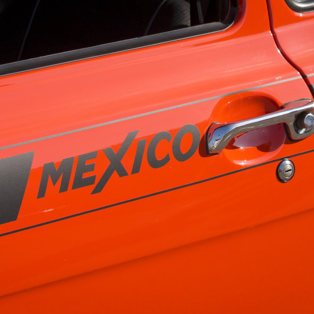 """Ford Escort Mexico"" stock image"